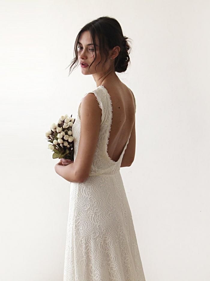 maxi wedding dress